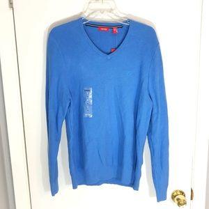 NWT IZOD Men's Blue Long Sleeve Shirt